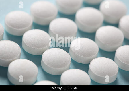 Close-up of pills Banque D'Images