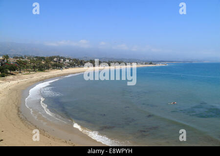 ... California coast Central  Plage de Santa Barbara, Californie, USA  Banque D Images c482d7e7e2a8