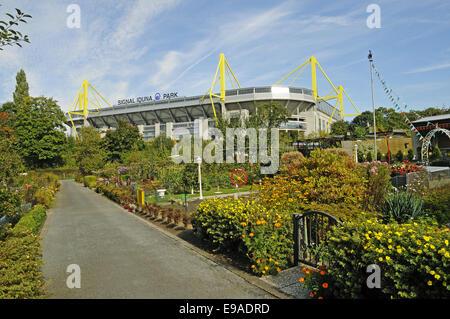 Parc Signal Iduna, Dortmund, Allemagne Banque D'Images