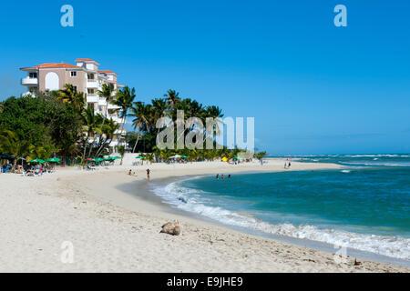 Dominikanische Republik, osten, juan dolio, guayacanes-strand