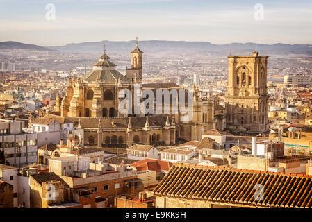 Grenade, La Cathédrale, Santa Iglesia Catedral Metropolitana de la Encarnación de Granada, La Cathédrale de l'Incarnation
