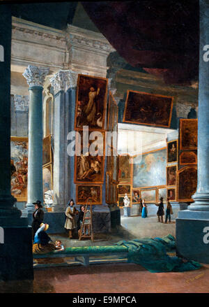 Musée des beaux-arts de Marseille - Musée des beaux-arts de Marseille Joseph Dauphin Français France 1821-1849 Banque D'Images