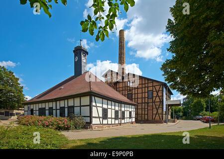 Hallors technique et musée de la Saline à Halle, Allemagne Banque D'Images