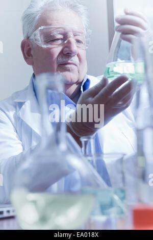 Chercheur principal travaillant au laboratoire