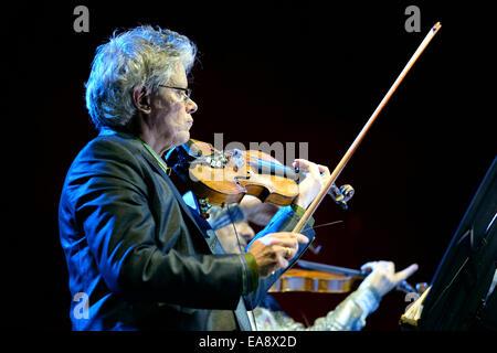 BARCELONA - 31 MAI: Kronos Quartet (Quatuor à cordes américain), concert au Primavera Sound Festival 2014 Heineken Banque D'Images