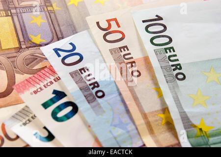 L'argent, billets, portant sur 24 Banque D'Images