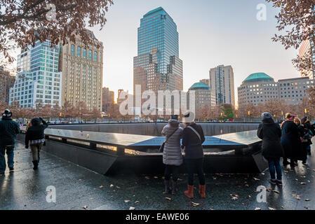 New York, NY 20 novembre 2014 Musée et Mémorial du 11 septembre Banque D'Images