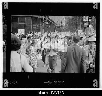 Poor People's Mars à Lafayette Park et sur Connecticut Avenue_151 Banque D'Images