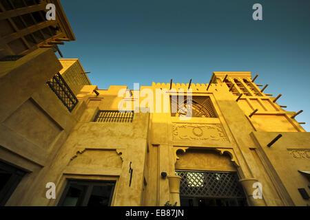Madinat Jumeirah Resort, Dubai, Émirats arabes unis, France Banque D'Images