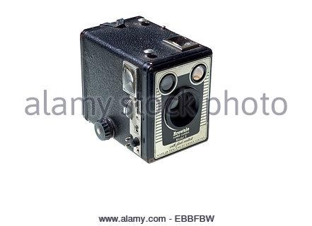 'Fort' Brownie Kodak appareil photo, '620' taille du film des années 30. Banque D'Images