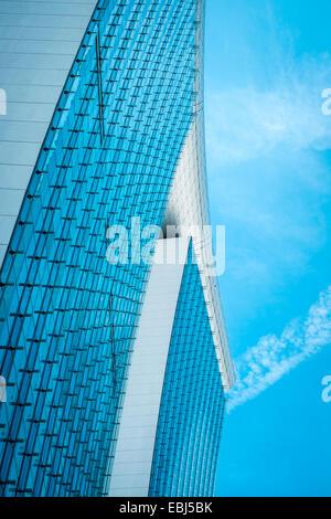 L'architecture moderne par le Bay à Singapour Banque D'Images