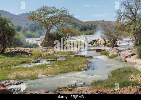 Voir d'Epupa Falls, en Namibie