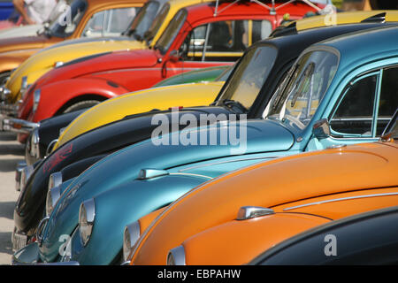 Divers Volkswagen Volkswagen dans le 16e réunion à Agde, France.