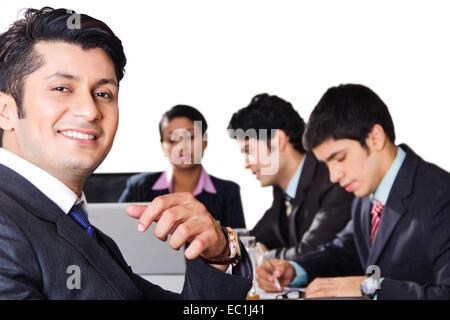Partenaire d'affaires de l'entreprise indienne