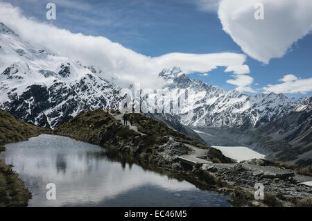 Aoraki Mount Cook National Park Banque D'Images