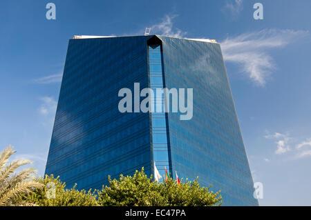 Édifice à bureau de la Chambre de Commerce et d'Industrie dans le quartier de Deira, Dubaï Banque D'Images
