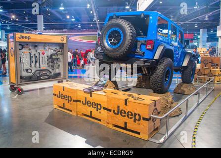 Jeep au SEMA Show à Las Vegas