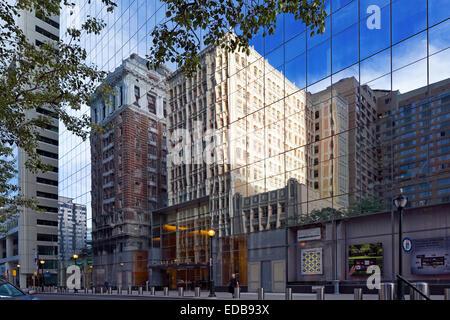 Office Building Reflections, Philadelphie, Pennsylvanie Banque D'Images