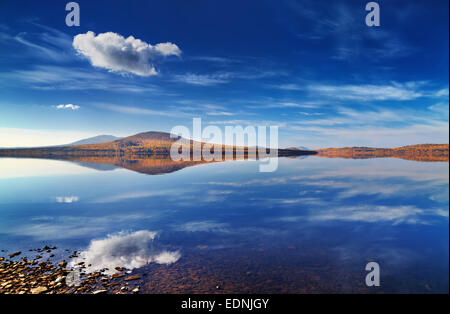 Lake Zuratkul en Oural, Russie