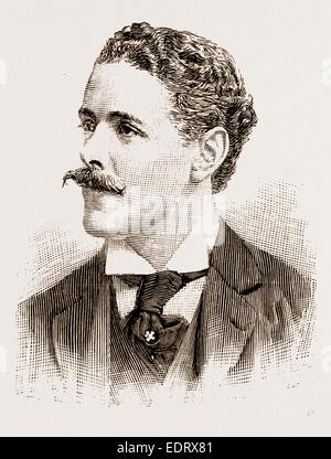 M. Ian Malcolm, DÉPUTÉ Photo par Clarke, Bury St Edmunds Banque D'Images