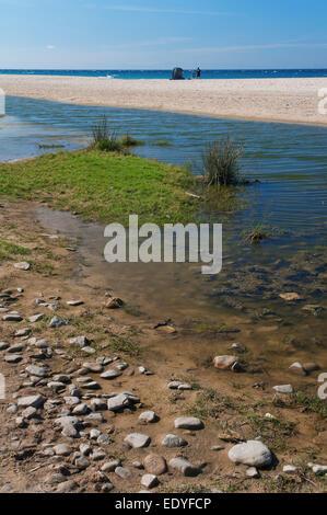 Plage de Bolonia, Tarifa, province de Cadix, Andalousie, Espagne, Europe