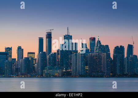Vue sur la ville, Toronto, Ontario, Canada, Amérique du Nord