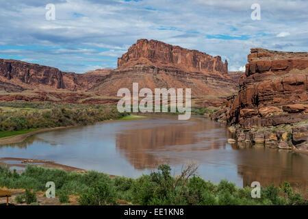 Colorado River, Canyonlands National Park, Utah, États-Unis d'Amérique, Amérique du Nord Banque D'Images