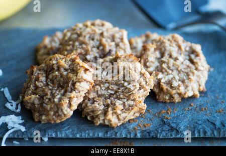 Cookies de paléo Banque D'Images