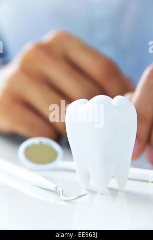 concept dentaire Banque D'Images