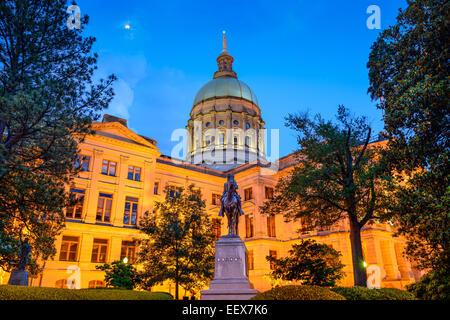 Georgia State Capitol Building à Atlanta, Géorgie, USA.