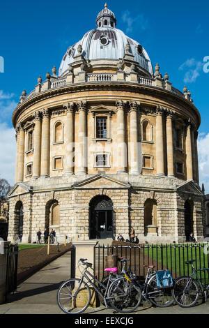La Radcliffe Camera, partie de la Bodleian Library à l'Université d'Oxford, Oxfordshire Banque D'Images