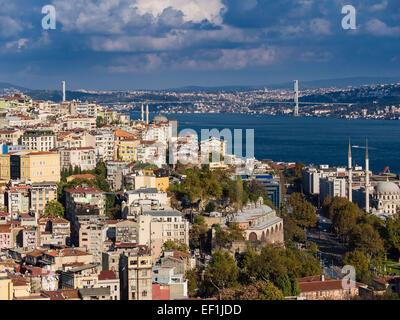 Vue d'Istanbul (Turquie) Banque D'Images