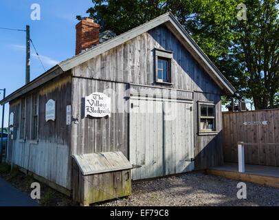 L'ancien forgeron de village au bord de l'eau dans le village de à Greenport, comté de Suffolk, Long Island, NY, Banque D'Images