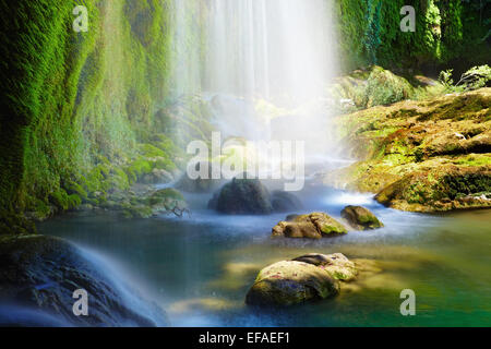 Cascades de Kursunlu Antalya, Turquie Banque D'Images