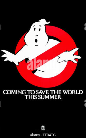 LOGO GHOSTBUSTERS Ghostbusters (1984) Banque D'Images