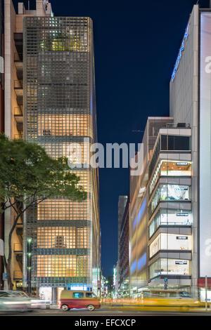 Ginza Maison Hermès Banque D'Images