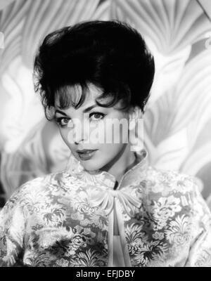 JOAN COLLINS UK film actrice sur 1955 Banque D'Images