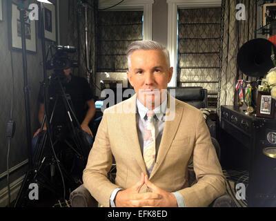 (Dossier) une archive photo datée du 21 août 2013, indique le directeur australien Baz Luhrmann (52, Gatsby le Magnifique) Banque D'Images