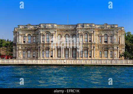 Palais de Beylerbeyi Sarayi Beylerbeyi ou (1861), l'arrêt Bosphorus, Istanbul, Turquie Banque D'Images