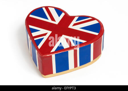 J'adore le concept de la Grande-Bretagne Banque D'Images