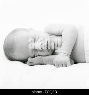 Cute baby sleeping Banque D'Images