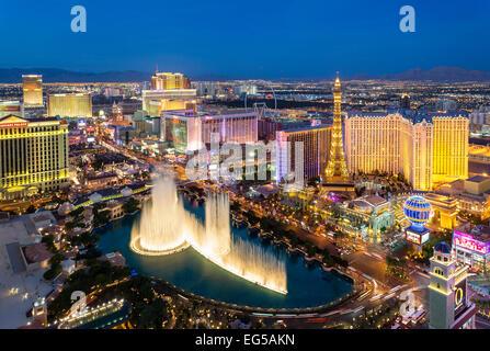 Las Vegas Skyline Banque D'Images