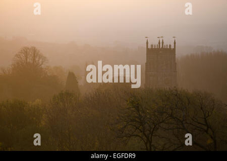 Eglise St James à Chipping Campden, aube, Cotswolds, Gloucestershire, Angleterre, Royaume-Uni, Europe