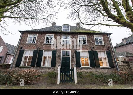 La maison où il a vécu Vincent Van Gogh Nuenen Pays-Bas Banque D'Images