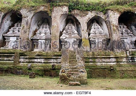L'INDONÉSIE, Bali, Ubud, près de Tampaksiring, Temple de Gunung Kawi. Tirtha Empul Temple est un temple hindou situé Banque D'Images