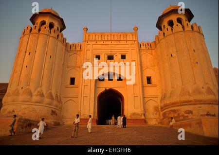 Alamgiri porte du Fort de Lahore, Pakistan, Lahore Banque D'Images