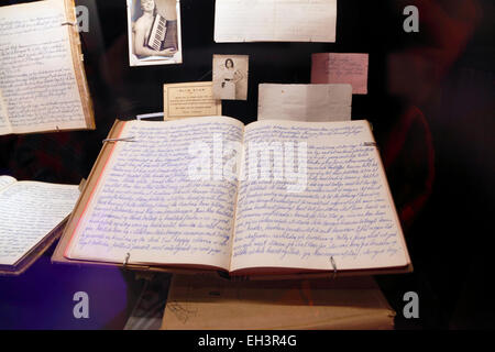 Un jeune Danois du journal des années 50 au Danish Maritime Museum (M/S) Søfart Museet pour Elseneur, Danemark / Helsingør