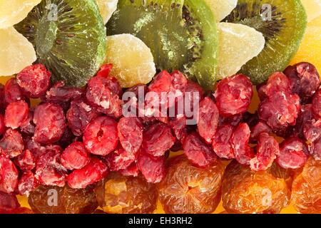La texture des fruits secs Banque D'Images