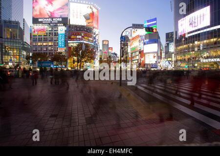L'île de Honshu, Japon, Tokyo, Shibuya, district Dogenzaka Banque D'Images