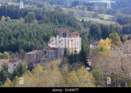 France, Puy de Dome, Auzelles, Parc Naturel Regional Livradois Forez (parc naturel régional du Livradois Forez)